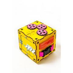 Easy Time Развивающий БизиКуб мини (желтый) (mg01)
