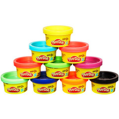 Hasbro Play-Doh Набор для праздника в тубусе, 10 цветов (22037H)