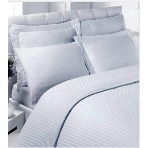 Комплект постельного белья cтрайп-сатин