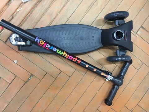 Самокат детский Scooter Maxi - черный.