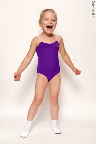 Strap leotard for kids | colour