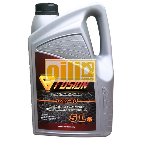 Fusion Semi Synthetic Turbo 10W-40 5L