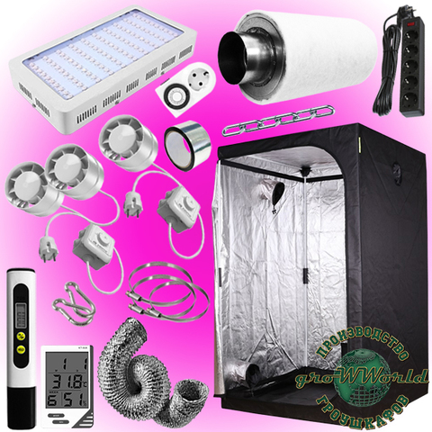 120х120х200 PROBOX  300W LED SUPERSILENT