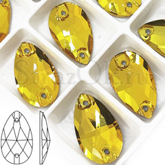 Стразы пришивные купить оптом Sunflower, Drope