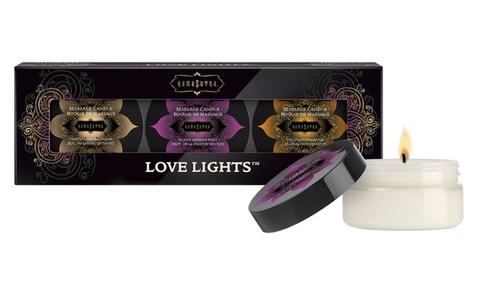 Массажные свечки Kama Sutra - Love Lights