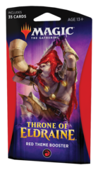 Тематический бустер «Throne of Eldraine» (красный) на английском языке