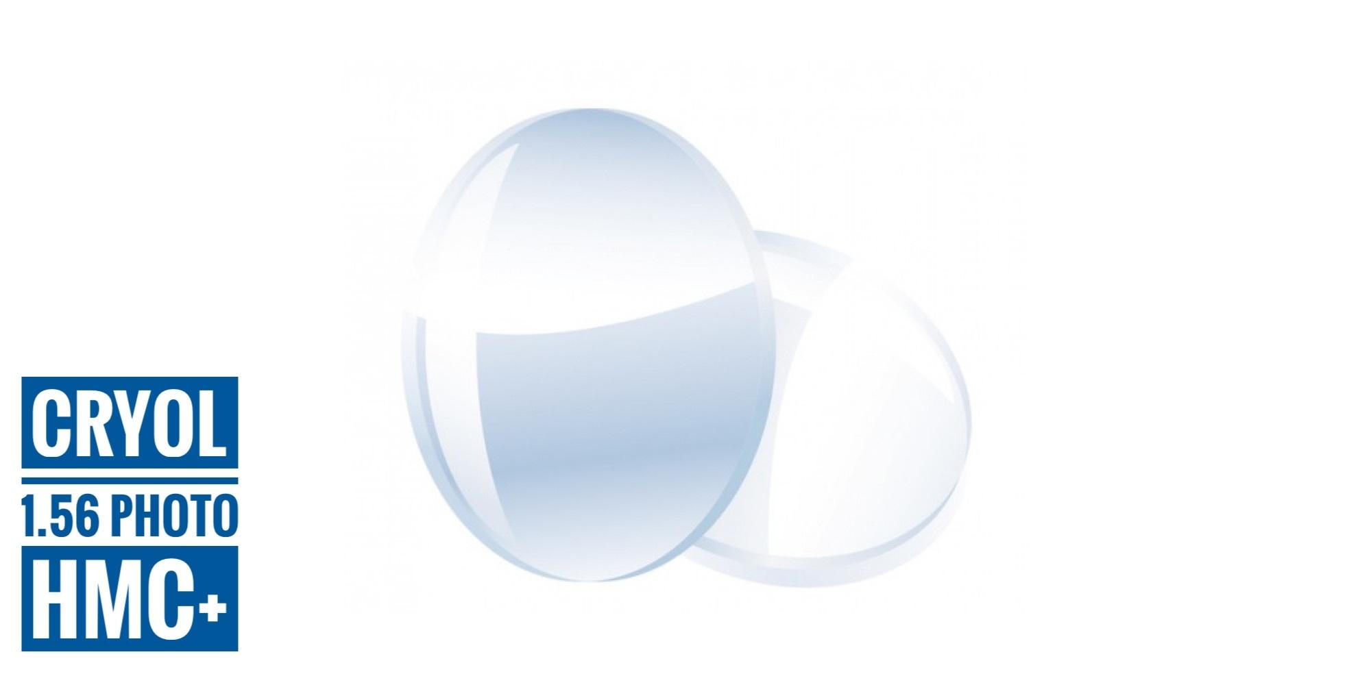 Линза полимерная фотохромная (серый, коричневый), Корея, 1 шт.
