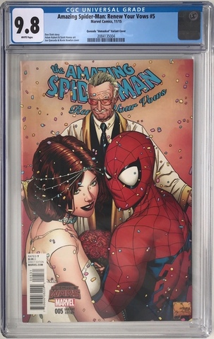 CGC Amazing Spider-Man: Renew Your Vows #5. Обложка 2. Состояние 9,8