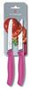 Набор Victorinox кухонный, 2 предмета, лезвие волнистое, розовый