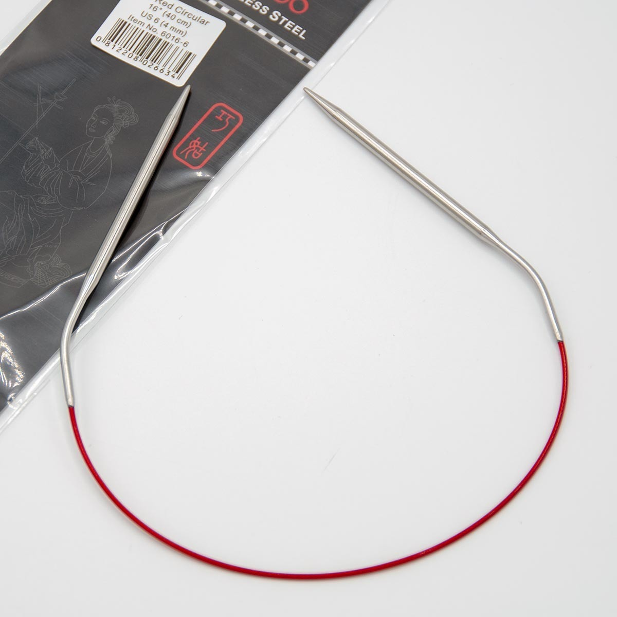 Cпицы металлические круговые Knit Red, ChiaoGoo