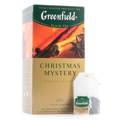"""Чай чёрный """"Greenfield"""" Christmas Mystery 25*1,5г"""