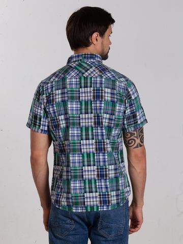 Рубашка к/р муж.  M012-01A-41CS SAHARA