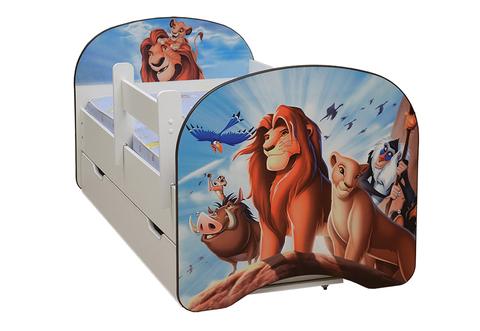 Кровать детская с фотопечатью Король Лев