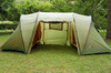 Картинка палатка кемпинговая Alexika INDIANA 4 green, 460x240x180