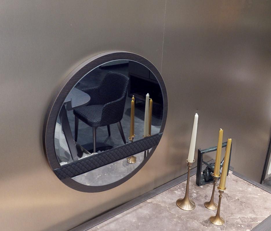 Зеркало NAVONA (60 cm) темный орех