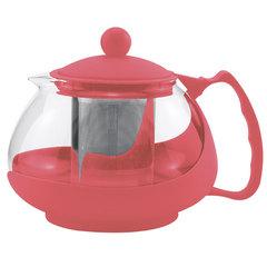 Чайник заварочный 700мл AK-5504/16 коралловый с металлическим фильтром
