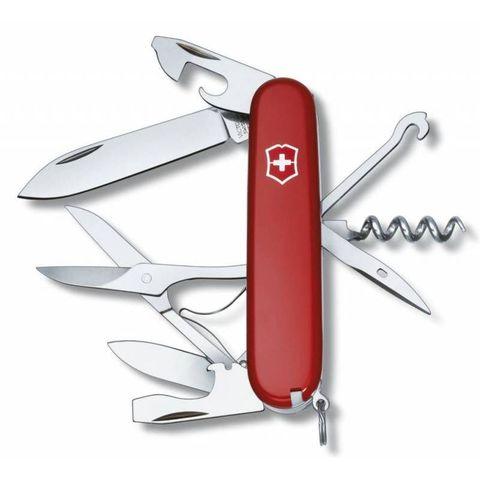 Нож перочинный Victorinox Climber (1.3703) 91мм 14функций красный
