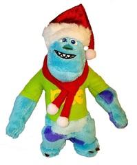 Новогодний Университет Монстров мягкая игрушка Салли в шапочке
