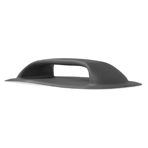 Ручка 192х110 мм для надувных лодок, чёрная, ПВХ