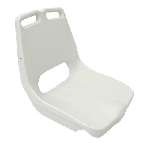 Сиденье пластмассовое с ручкой, белое
