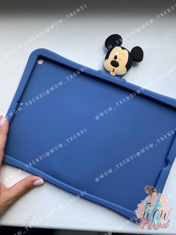 Накладка силикон iPad mini 1/2/3/4 Disney Mickey Mouse /blue/