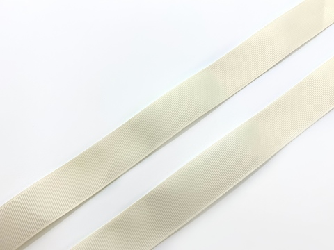 Репсовая лента (сантюр) 25мм, светло-персиковая