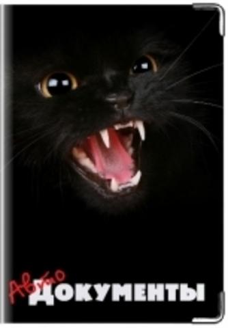 """Обложка для водительских документов """"Кошка"""""""