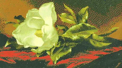 производитель KUSTOM KRAFTS¶артикул 95067¶Тематикацветочные мотивы¶Техникасчетный крест¶Размер40,