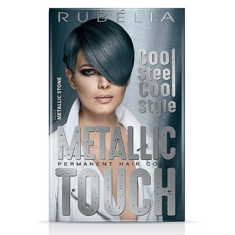 Краска для волос rubella metallic touch,Stone (Цвет камня)