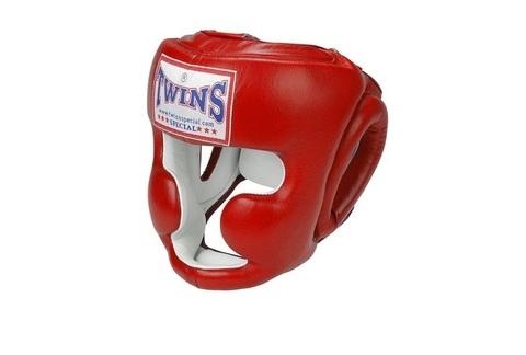 Шлем боксерский тренировочный TWINS HGL-6 для муай-тай