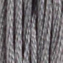 Нитки  мулине DMC хлопок Темно-серый 04