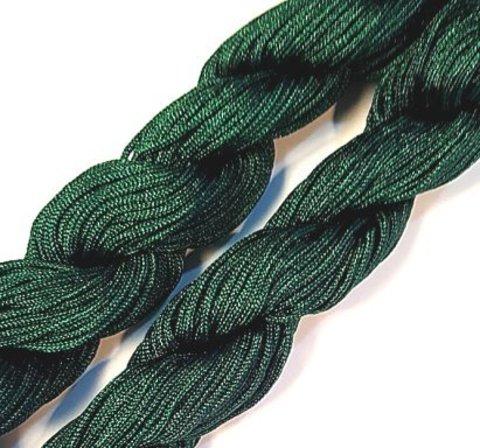 Шнур для плетения (нейлон) 1.5 мм изумрудный