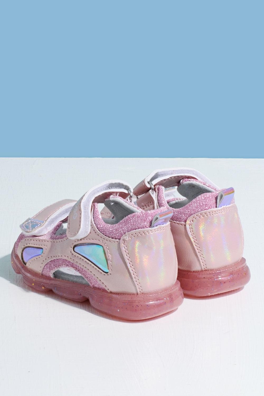 Босоножки розовые для девочки 205-0041-2