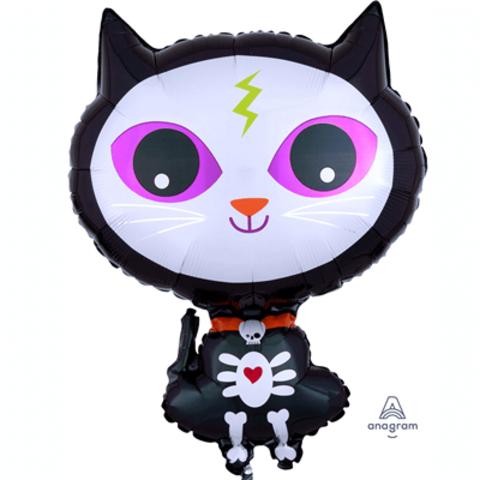Милый котенок скелет