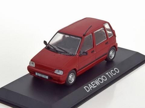 Daewoo Tico red 1:43 DeAgostini Masini de legenda #66