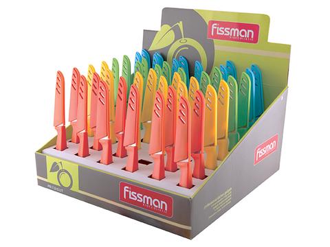 7015 FISSMAN Нож овощной 10 см в чехле,  купить