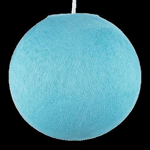 Хлопковый шар - подвес Нежно-голубой
