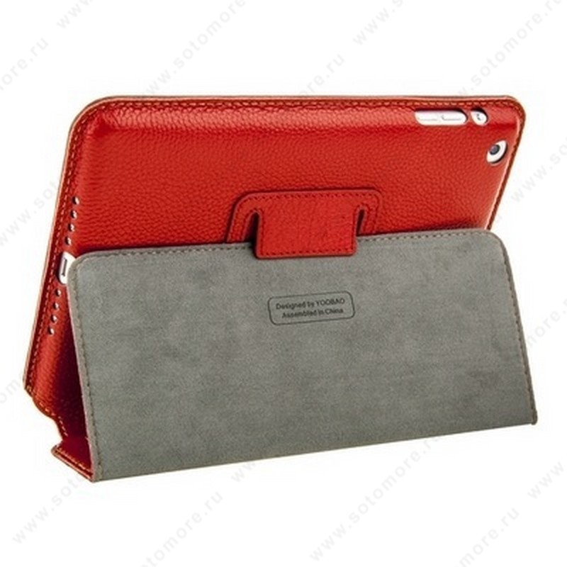 Чехол-книжка Yoobao для Apple iPad Mini 3/ 2/ 1 - - Yoobao Executive Leather Case Red