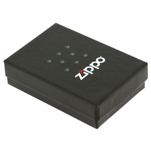 Зажигалка Zippo 9 мая с покрытием Street Chrome™, латунь/сталь, серебристая, матовая123