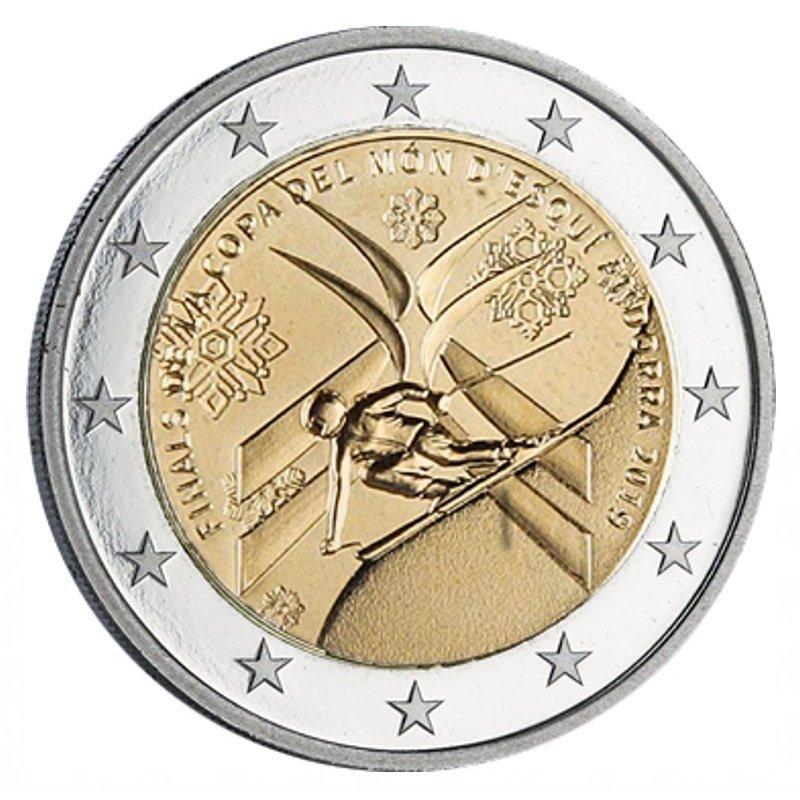 2 евро Андорра- Кубок мира по горнолыжному спорту. 2019 год