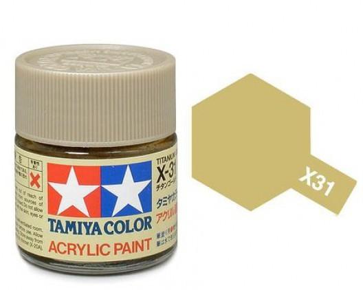 Tamiya Акрил X-31 Краска Tamiya, Золотой Титан (Titanium Gold), акрил 10мл import_files_b9_b9307ef05a8411e4bc9550465d8a474f_e3fbec2c5b5511e4b26b002643f9dbb0.jpg