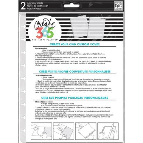 Пластиковая основа-заготовка для обложки на ежедневник Create 365 Classic Planner Covers DIY