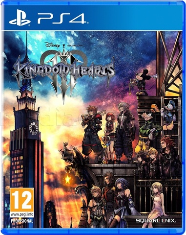 PS4 Kingdom Hearts III Cтандартное издание (английская версия)