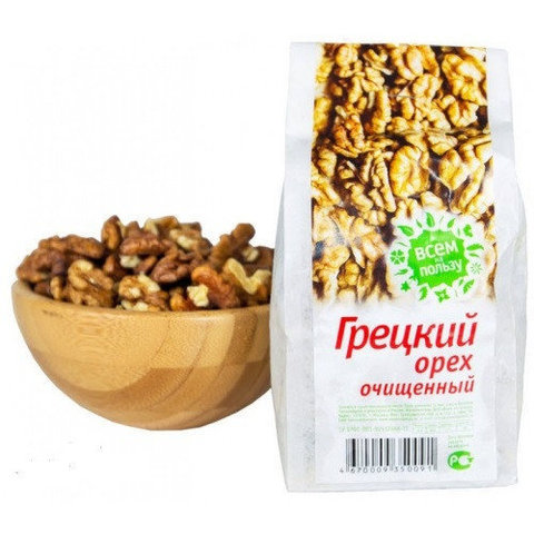 Всем на пользу грецкий орех 200 г