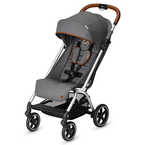 Прогулочная коляска Cybex Eezy S Plus Denim Collection Manhattan Grey