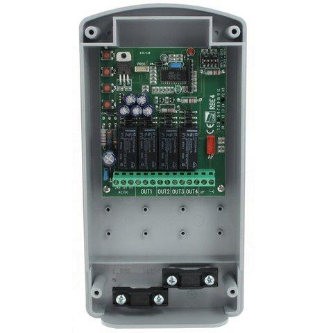 RBE4024 - Радиодекодер внешний двухчастотный 4-х канальный (12-24 В AC/DC), IP54, 3000 передатчиков Came