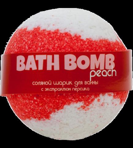 Бурлящий шарик для ванны Персик | Savonry