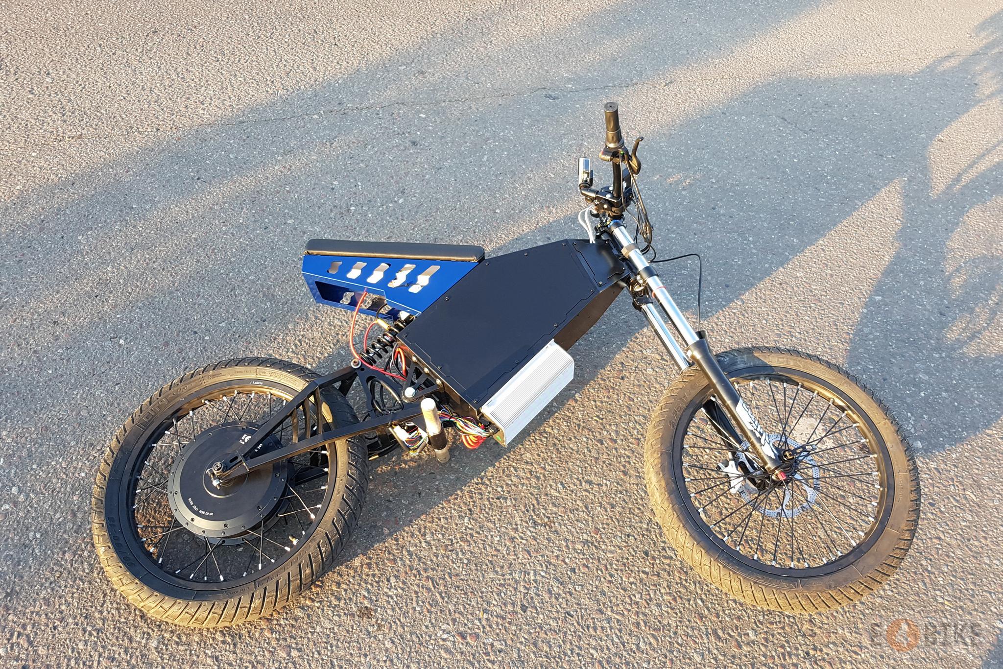 Мотор-колесо E4BIKE Turbo+ (MXUS 5K), 5000 Вт