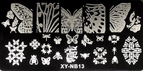 Пластина для стемпинга XY-NB13