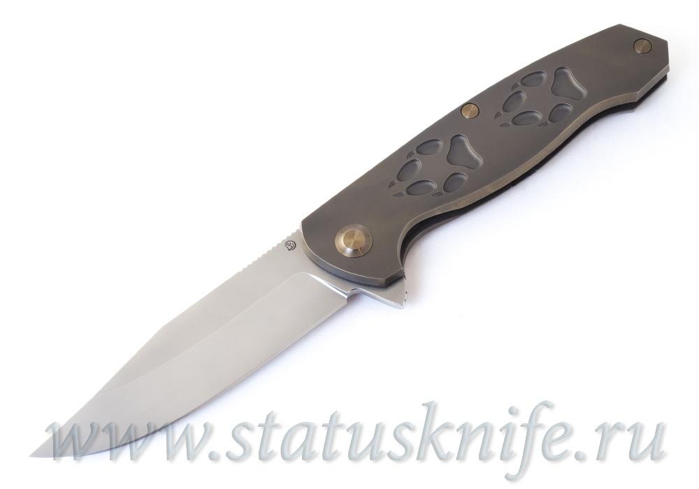Нож Чебуркова Волк Wolf М390 Bronze